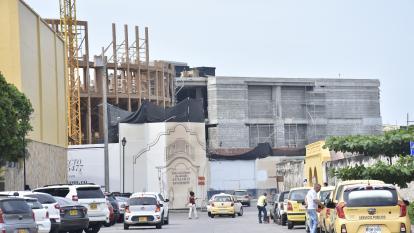 Dos obras atentan contra el patrimonio de Cartagena