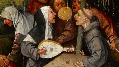 'La nave de los locos', cuadro realizado en óleo sobre tabla por Jerónimo Bosch.
