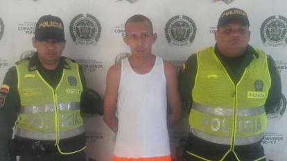 Adalberto Roa Corrales, capturado.