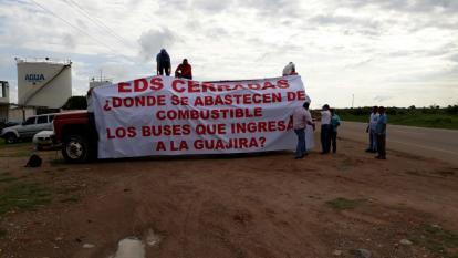 En paro las 190 estaciones de gasolina de La Guajira