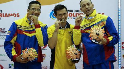 Con 209 medallas de oro, Colombia impone récord bolivariano