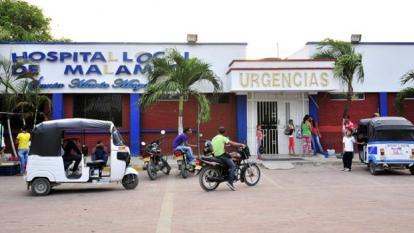El menor murió en el Hospital de Malambo.