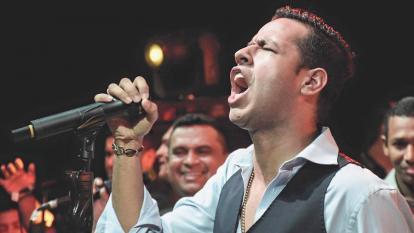El desaparecido cantante Martín Elías.