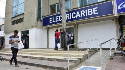 Sede de la empresa Electricaribe en el norte de Barranquilla donde la Contraloría revisó la información.