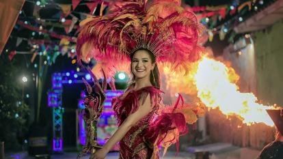 Valeria Abuchaibe Rosales, reina del Carnaval 2018