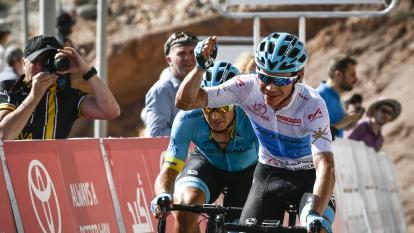 Miguel Ángel López, tercero en Vuelta a Abu Dabi