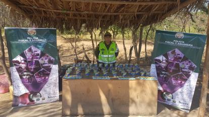 Decomisan 5.616 útiles escolares y 656 litros de licor de contrabando en La Guajira