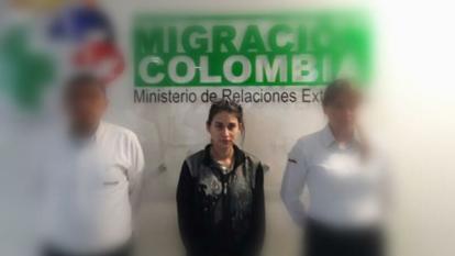 Llegó deportada colombiana con aparentes nexos con Isis