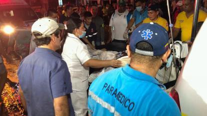 """Tras incendio en la Reina Catalina, """"190 pacientes fueron evacuados"""": Alma Solano"""