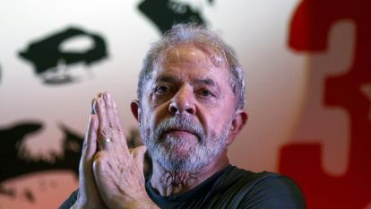 Lula, expresidente de Brasil.