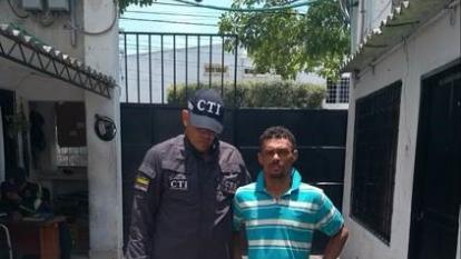 Capturan a hombre que estaba huyendo tras ser condenado por hurto a vivienda en Santa Marta