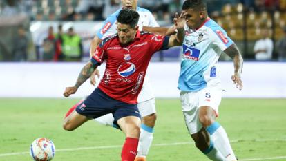 German Cano marcó los dos goles del Medellín.