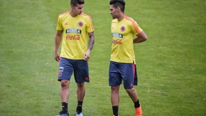James Rodríguez y Falcao García se unieron a los entrenamientos.