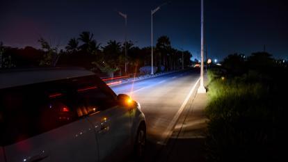 Daños en 150 lámparas tienen a oscuras el Corredor Portuario