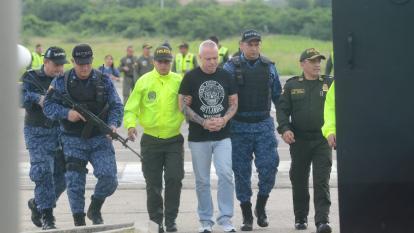 'Popeye' fue trasladado a cárcel de Valledupar