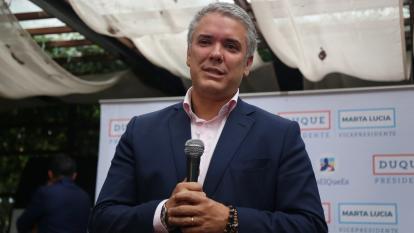 """Duque anuncia que presionará por unas elecciones """"libres"""" en Venezuela"""