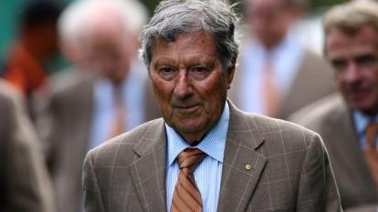 Peter Thomson, el fallecido exjugador de golf.