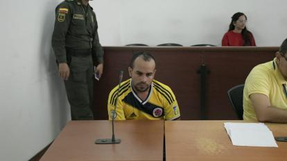 Dules Arturo Liñán Acosta, capturado.