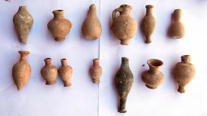 Antigüedades escondidas en la II Guerra Mundial fueron encontradas en Egipto