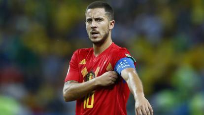 Eden Hazard, capitán se la Selección de Bélgica.