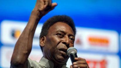 El rey del fútbol, Pelé.