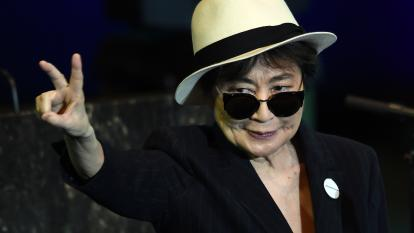 Yoko Ono lanzará nuevo álbum por la paz