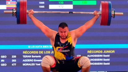 Santiago Cossio logra medalla de oro para Colombia en halterofilia