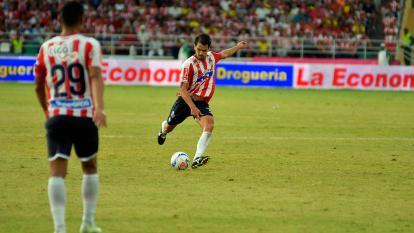 1290 minutos ha jugados este año Sebastián Hernández con Junior, en compromisos por la Liga Águila y tiene un gol convertido (al Medellín).