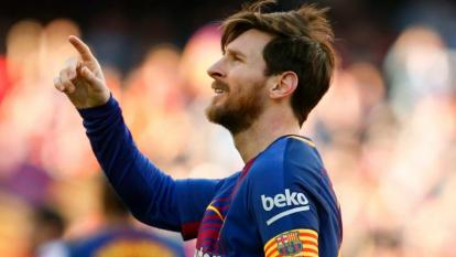 Messi, nuevo capitán del Barcelona