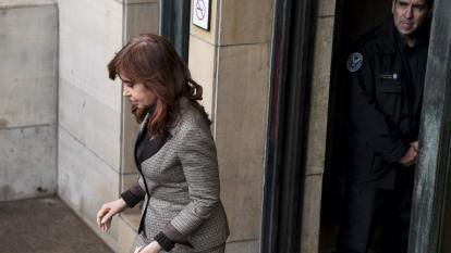 Cristina Kirchner, expresidenta argentina.
