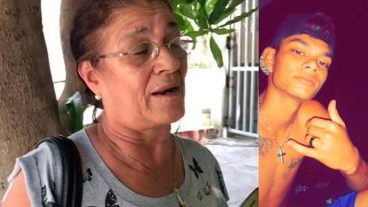 """""""Dios permita que no sea mi nieto"""": abuela de joven desaparecido"""