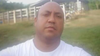 Haison José Fuenmayor Escobar, el secuestrado.
