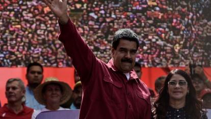 EEUU impone sanciones al entorno de Maduro, incluida su mujer