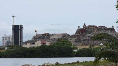 Vista del edificio Aquarela, cerca del Castillo San Felipe.