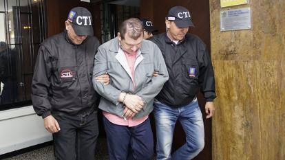 Legalización de captura e imputación de cargos a mayor Luis Perdomo.