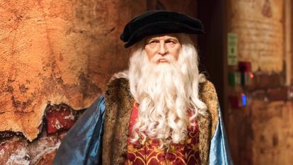 El estrabismo que habría potenciado el genio de Da Vinci