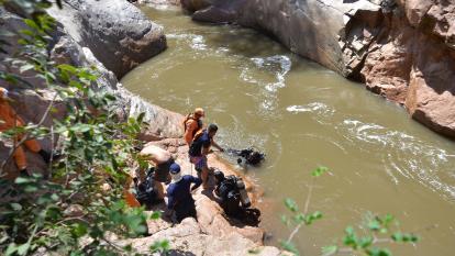 Hallan cuerpo de venezolano ahogado en el río Guatapurí