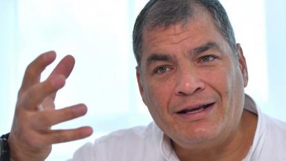 Llaman a juicio a Rafael Correa por secuestro de un opositor en Colombia
