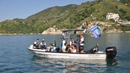 Curiosa convocatoria en Parque Tayrona: Concurso de captura del pez león