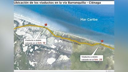 Mintransporte ve muy caro proyecto de vía a Ciénaga