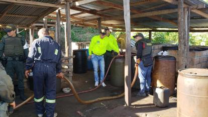 Golpe al contrabando de combustible: incautan 2.000 galones de gasolina en La Guajira