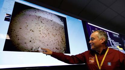 Primera imagen de Marte del InSight