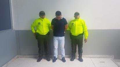 Alberto Mogollón Martínez, capturado.