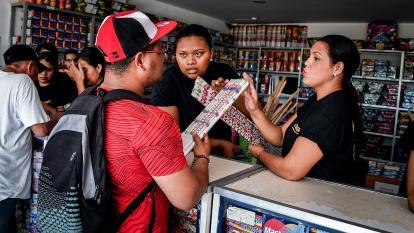Por ningún motivo vendamos pólvora en las tiendas: Undeco