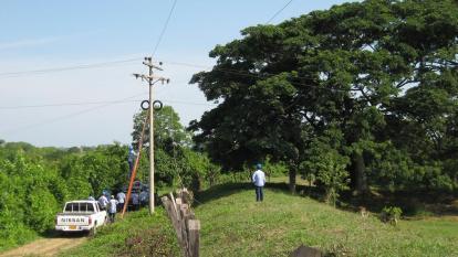 Robo de 450 metros de redes afecta servicio de energía en Candelaria