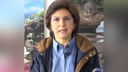 Julia Miranda Londoño, directora de Parques Nacionales Naturales.