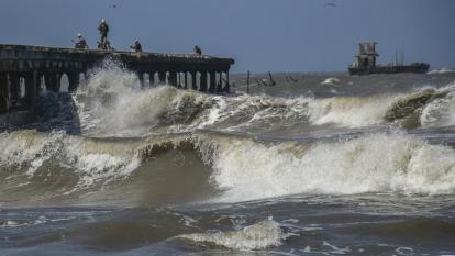 Alerta por fuertes vientos y oleaje en gran parte de la Región Caribe