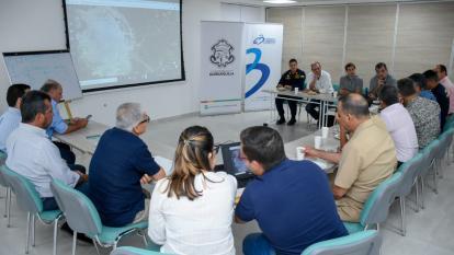 Buscan solución urgente para el islote del río Magdalena