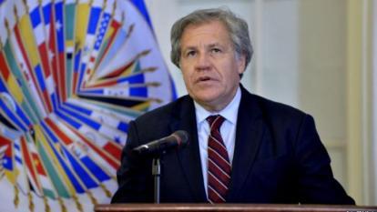 """Almagro condena """"represión"""" en manifestación de opositores en Venezuela"""