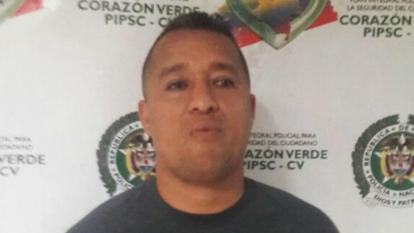 Franklin Javier González Luna, alias Franklin Malembe, señalado jefe de 'los Papalópez'.